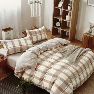купить Постельное белье Французский лен 76281 Бежевый фото
