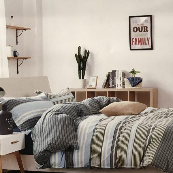 купить Постельное белье Французский лен 76965 Серый фото