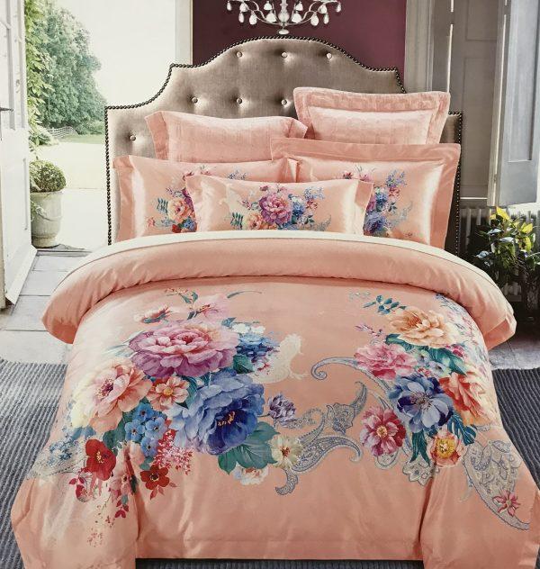 купить Постельное белье гобелен 00001725 Розовый фото