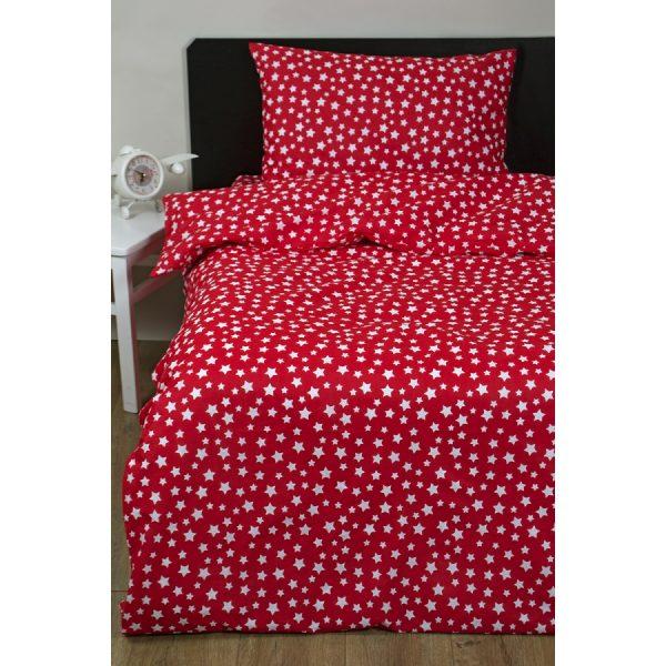 купить Постельное белье для подростков Lotus Young - Small Stars Красный фото