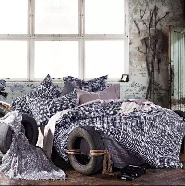 купить Постельное белье сатин люкс 00000325 Серый фото