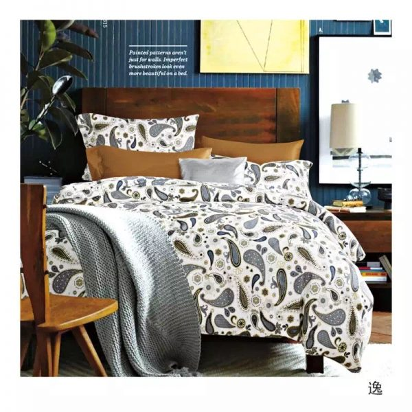 купить Постельное белье сатин люкс 00000336 Серый фото