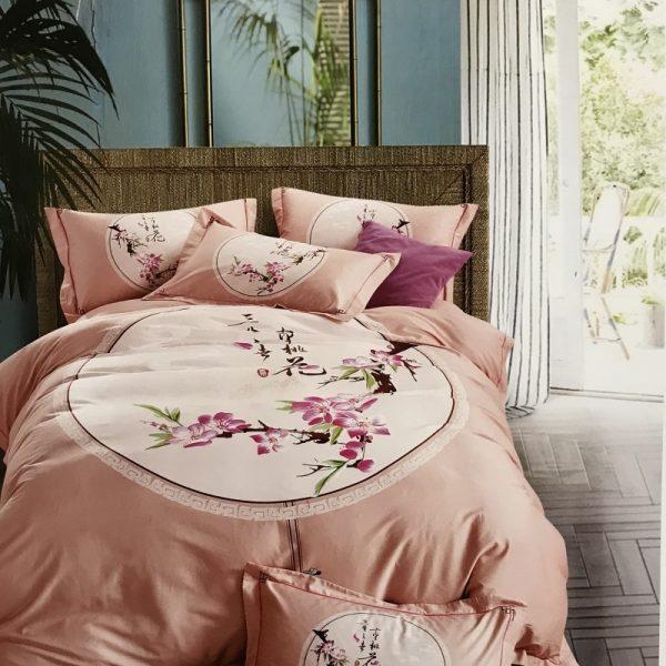 купить Постельное белье сатин люкс 60S 13753 Розовый фото