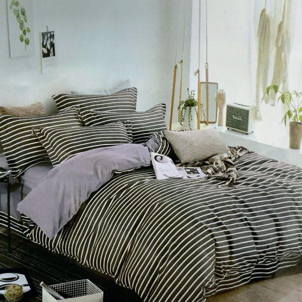 купить Постельное белье фланель 471030 Серый фото