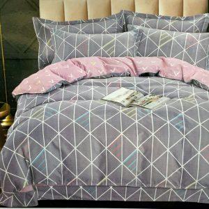 купить Постельное белье фланель 471387 Серый фото