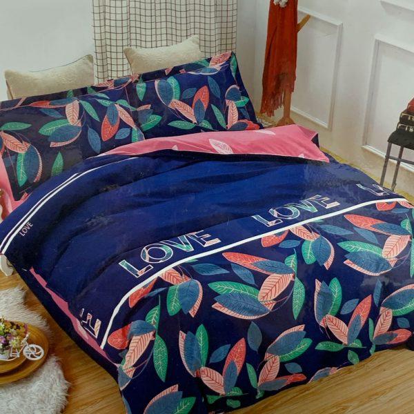 купить Постельное белье фланель 471807 Синий фото