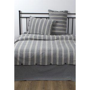 купить Постельное белье Barine Washed cotton - Luke Bond Серый фото