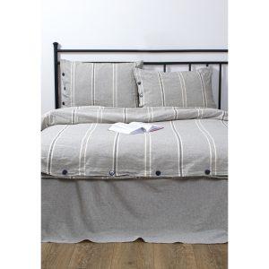 купить Постельное белье Barine Washed cotton - Sense Серый фото