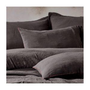 купить Постельное белье Buldans - Agora antrasit Серый фото