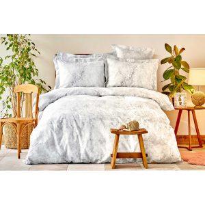 купить Постельное белье Karaca Home сатин - Kaori gri Серый фото