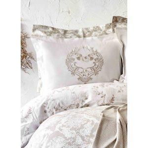 купить Постельное белье Karaca Home сатин - Quatre royal gold Золотой
