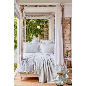 купить Постельное белье Karaca Home - Nadia gri pike jacquard Серый фото