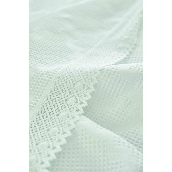 купить Постельное белье Karaca Home - Olivia beyaz пике Белый фото