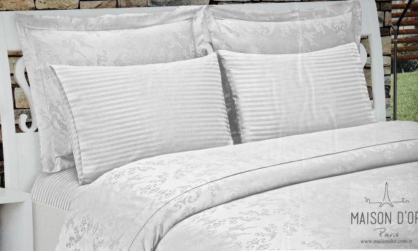 купить Постельное белье Maison Dor BAMBOO ECRU Серый фото