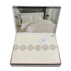 купить Постельное белье Maison Dor Helena ELITA DIOR BROWN Кремовый фото