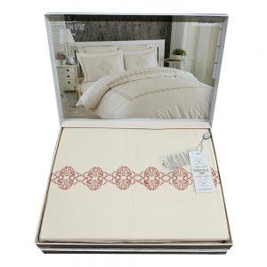 купить Постельное белье Maison Dor Helena ELITA DIOR PINK Кремовый фото