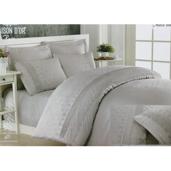 купить Постельное белье Maison Dor JNDILA SIMONE GREY Серый фото