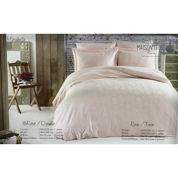 купить Постельное белье Maison Dor - MIRABELLA ROSE Розовый фото