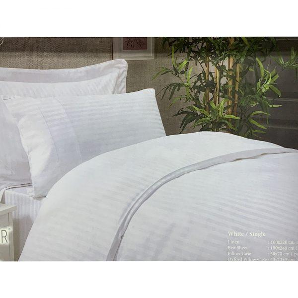 купить Постельное белье Maison Dor - NEW RAILS WHITE Белый фото