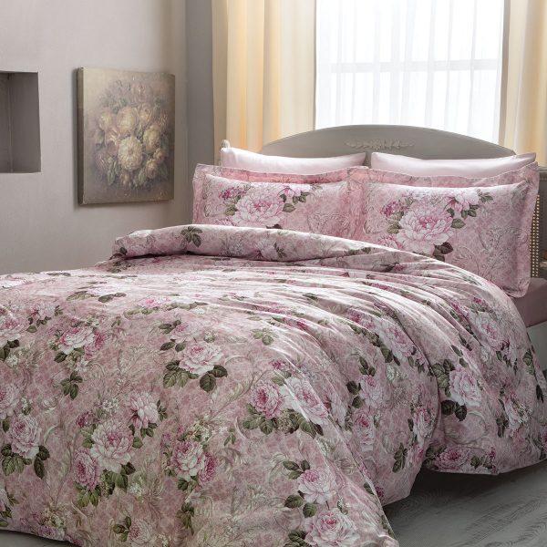 купить Постельное белье TIVOLYO HOME MONA LISA Розовый фото
