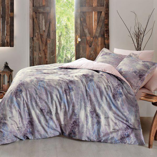 купить Постельное белье TIVOLYO HOME VIVIEN Фиолетовый фото