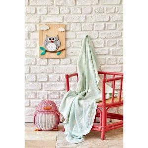 купить Детское покрывало пике Karaca Home - Baby star yesil