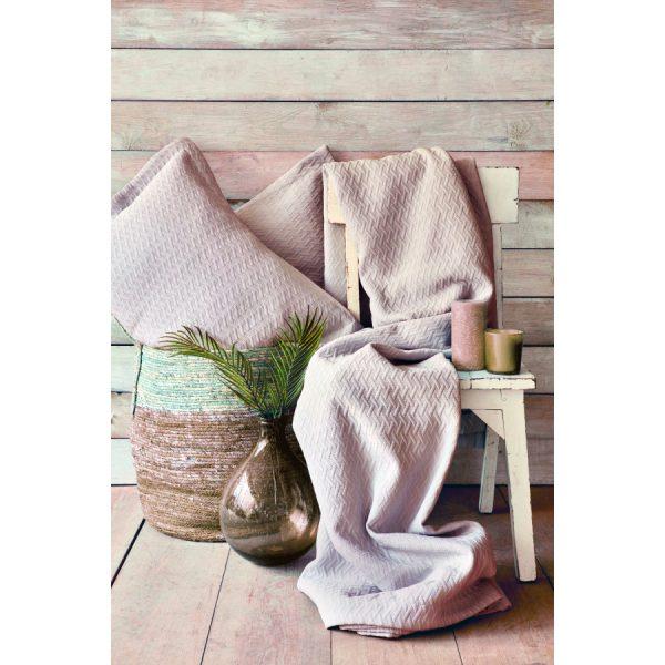 купить Покрывало с наволочками Karaca Home - Charm bold pudra