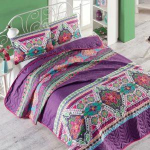 купить Покрывало стеганное с наволочкой Eponj Home - Rug fusya