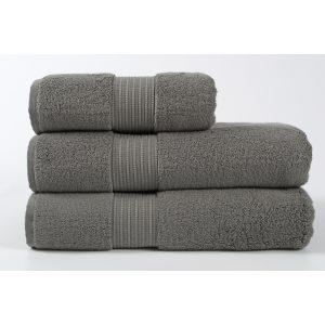 купить Полотенце махровое Penelope - Kongo dark grey