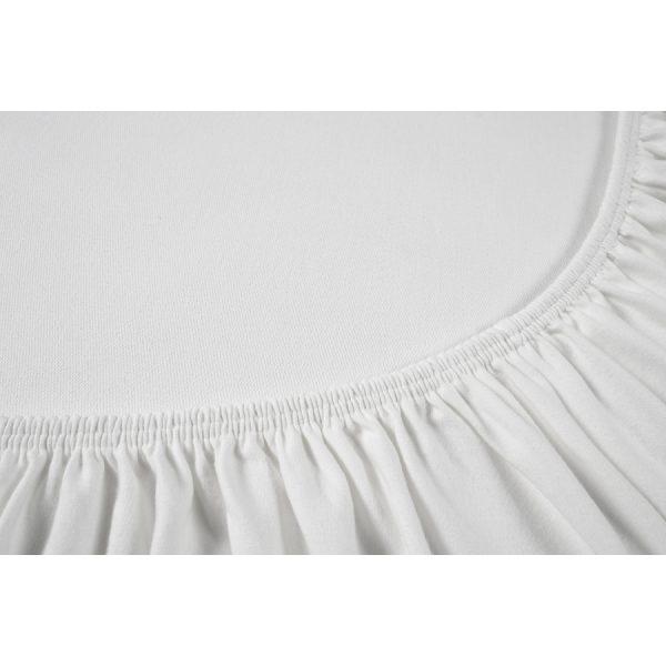купить Простынь на резинке Othello - Cottonflex белый