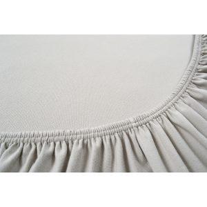 купить Простынь на резинке Othello - Cottonflex серый