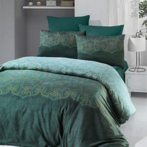 купить Постельное белье VICTORIA Sateen PANDORA Green Зеленый фото