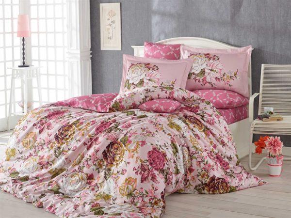 купить Постельное белье HOBBY Exclusive Sateen Rosanna Розовый фото