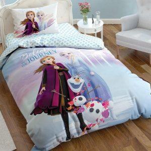 купить Подростковое постельное белье TAC Disney Frozen 2 Голубой фото
