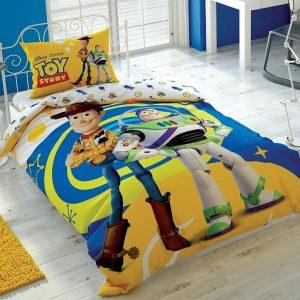 купить Подростковое постельное белье TAC Disney Toy Story 4 Желтый фото