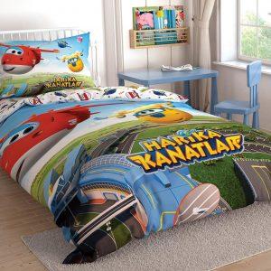 купить Подростковое постельное белье TAC Disney Harika Kanatlar Зеленый фото