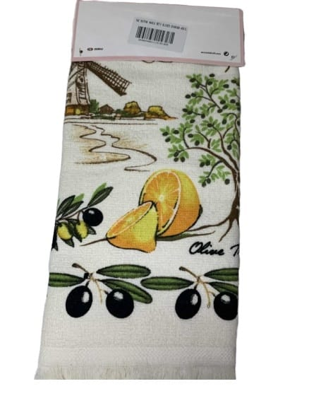 купить Набор кухонных полотенец TAC Olives (2 шт)