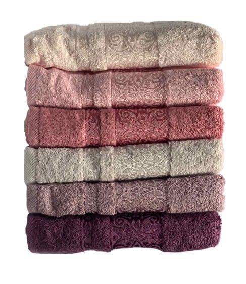 купить Набор махровых полотенец Miss Cotton Bamboo Sarmasik (6 шт.)