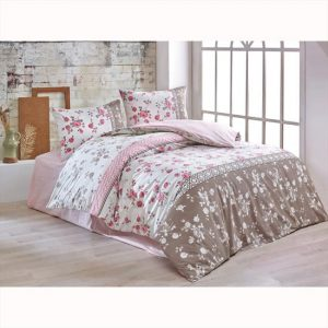 купить Постельное белье Brielle ранфорс Gulperi pembe Розовый фото