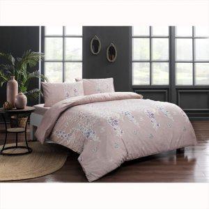 купить Постельное белье TAC ранфорс Sarah V02 Розовый фото
