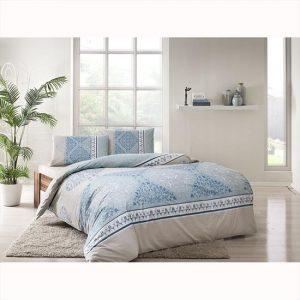 купить Постельное белье TAC ранфорс Talia V01 Голубой фото