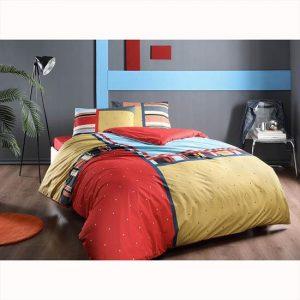 купить Постельное белье TAC ранфорс Dexter V02 Красный фото