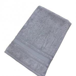 купить Махровое полотенце TAC Softness серый