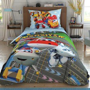 купить Подростковое постельное белье TAC Disney Harika Kanatlar Runway Серый фото