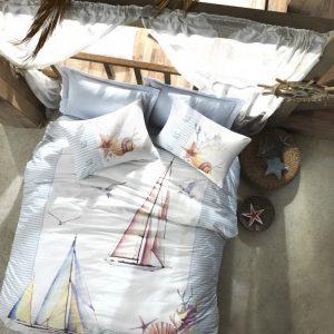 купить Постельное белье Cotton box Yacht Серый фото