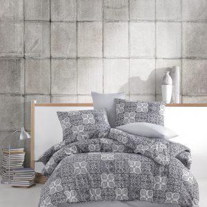 купить Постельное белье Majoli Ceramica v1 Grey Серый фото