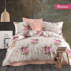 купить Постельное белье Majoli Rosalina Розовый фото