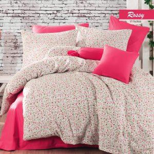 купить Постельное белье Majoli Rossy v1 Fusya Розовый фото