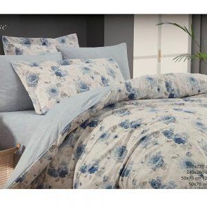 купить Постельное белье Maison Dor BELLA ROSE BLUE Голубой фото