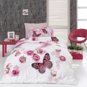 купить Постельное белье First Choice сатин 3d молодежный flair Розовый фото